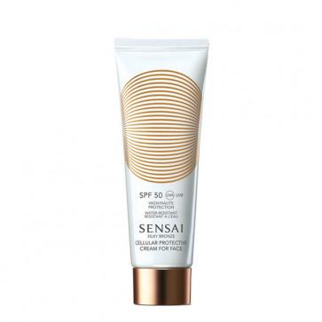 Sensai Silky Bronze Cellular Protective Cream for Face SPF 50